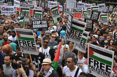 The A-APRP Stands with Palestine