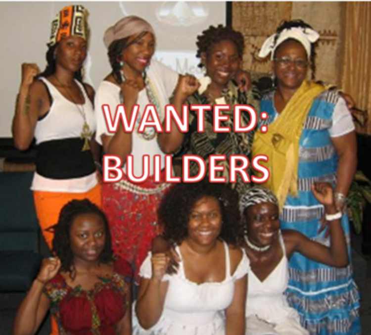 WANTED: Builders of a New African World