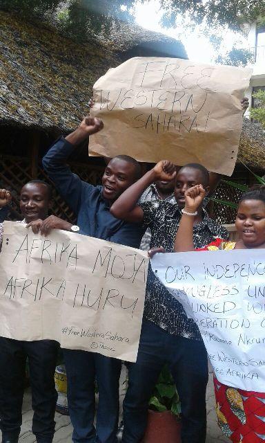 A-APRP Tanzania and Solidarity with Western Sahara