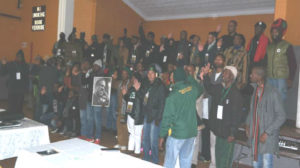 Pan-African Convention in Azania/South Africa