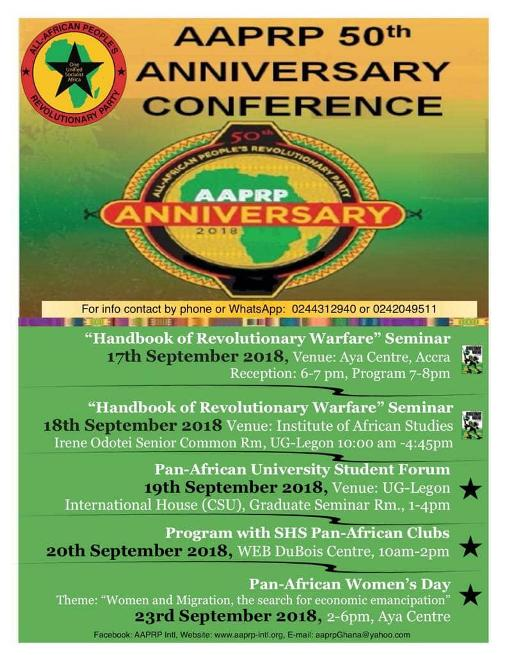 A-APRP 50th Anniversary Conference