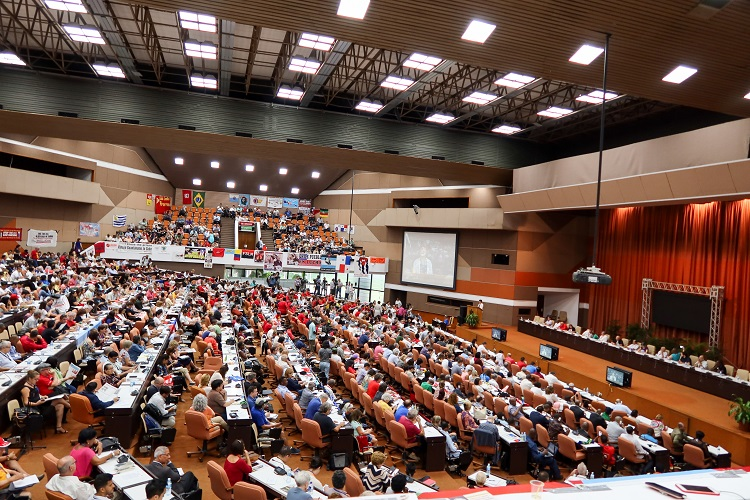 A-APRP Delegation Attends Anti-Imperialist Conference in Cuba