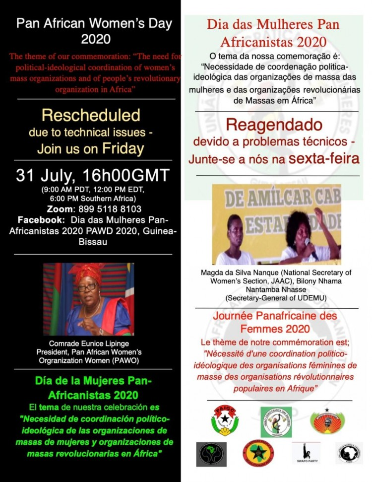 Pan-African Women's Day (PAWD) 2020 Webcast